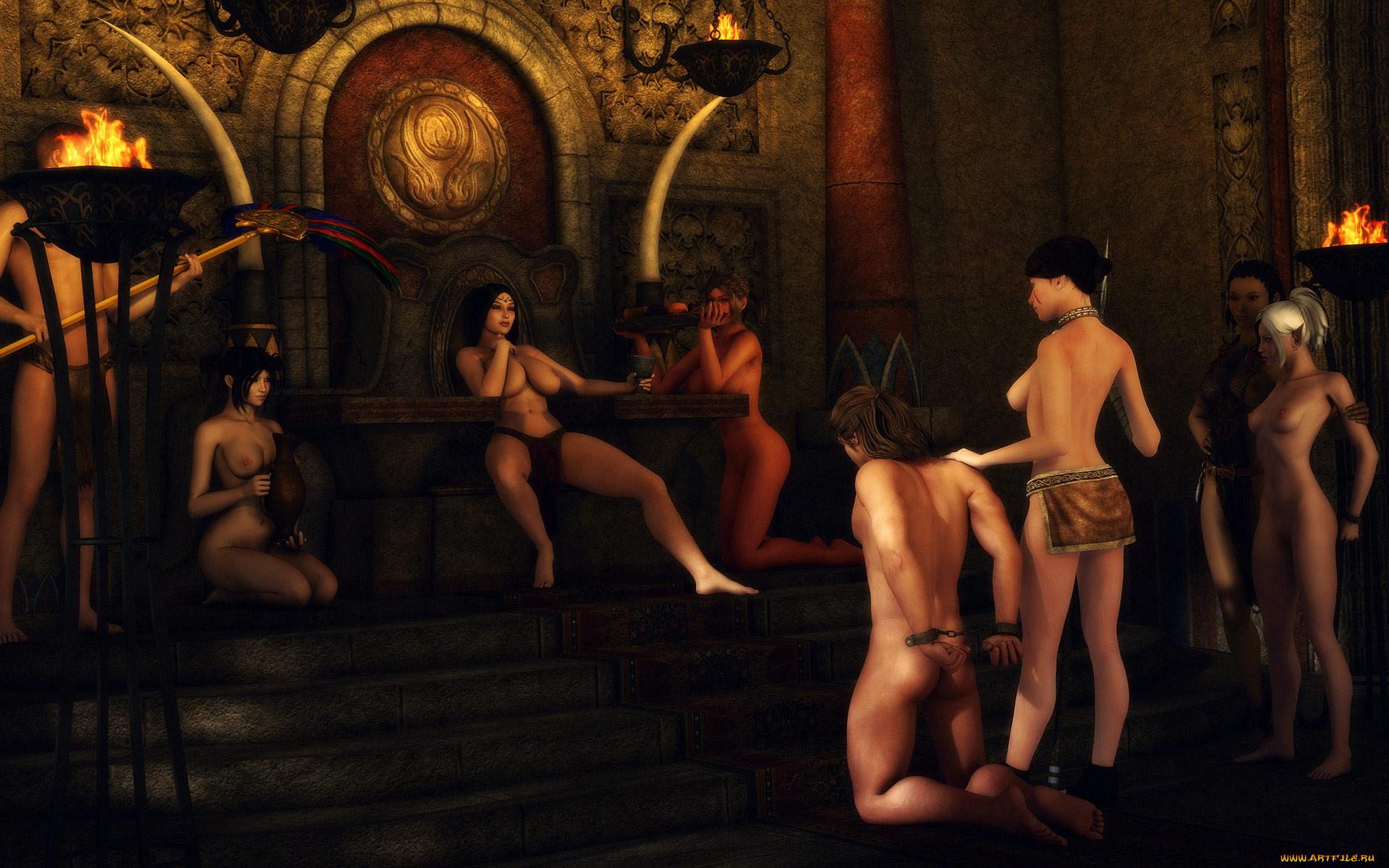 игры викингов порно